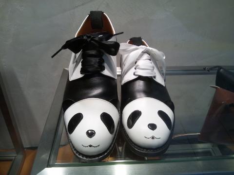 パンダの靴\u2026